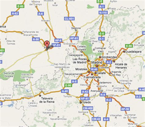 Dónde está Ávila en España? La ubicación geográfica de Ávila