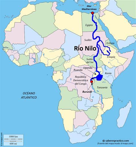 ¿Dónde está el río Nilo?   Saber es práctico