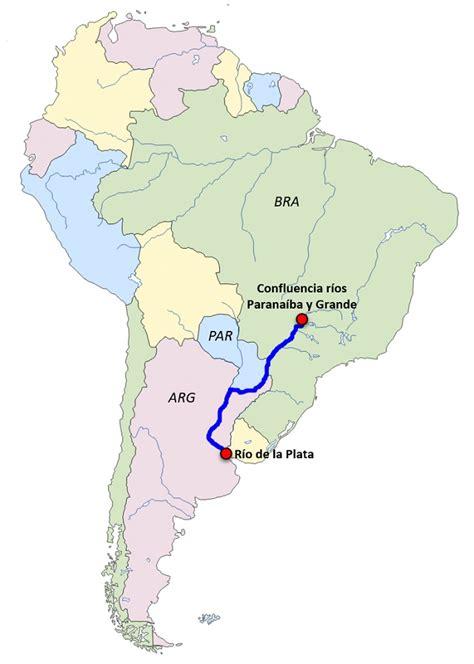¿Dónde está el río Paraná?   Saber es práctico