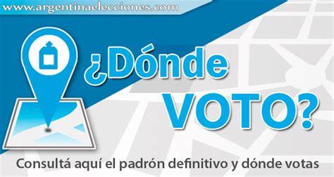 Donde Voto Consulta Donde Votar Padrones Electorales 2017 ...