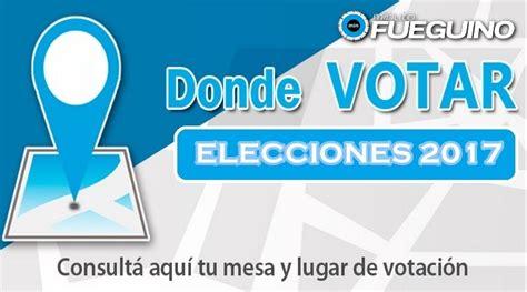 Dónde voto: consultá el padrón electoral 2017   Noticias ...