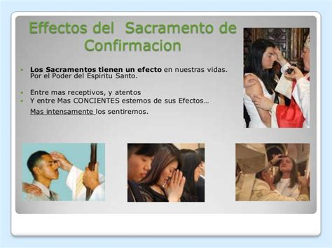 Dones & frutos del espiritu santo & confirmation
