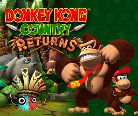 Donkey Kong Country Returns | Wii | Games | Nintendo