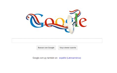'Doodle' de Google para Paraguay - Nacionales - ABC Color