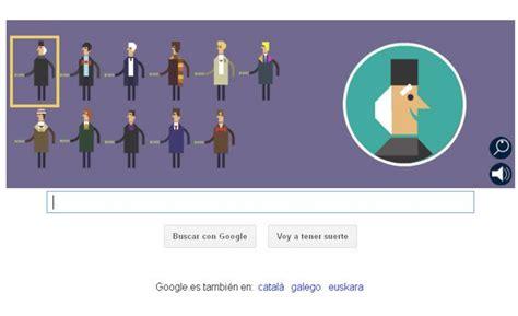 Doodle de Google: Un juego interactivo para celebrar los ...