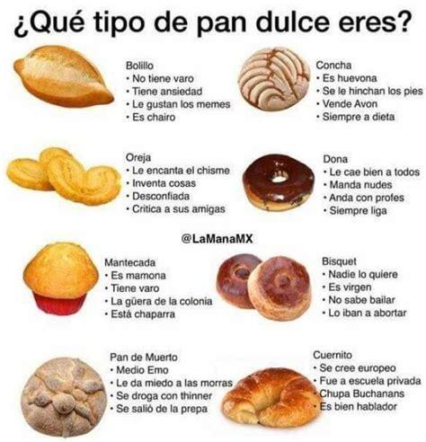 dopl3r.com   Memes   iQué tipo de pan dulce eres? Bolillo ...
