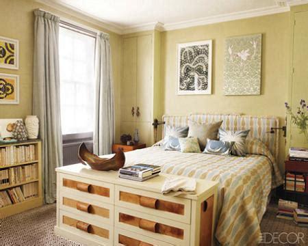 Dormitorio amarillo – Decoración