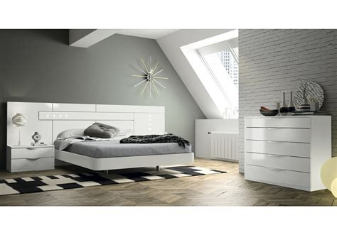 Dormitorio de matrimonio Blanco Kos - Casaidecora.com