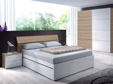 Dormitorio de Matrimonio con cama de 4 cajones, dos ...