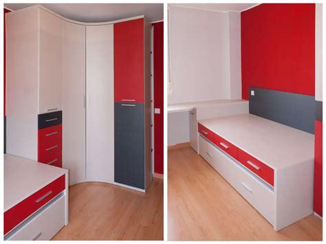 Dormitorio juvenil compuesto por Armario xinfonier con ...