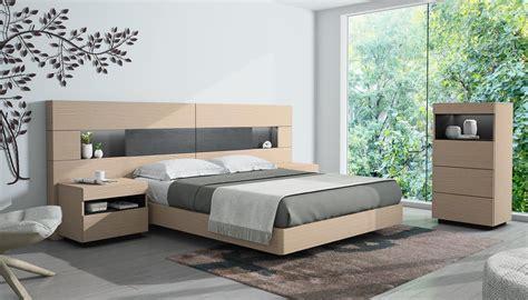 Dormitorio moderno 070a. Muebles acabados en chapa natural ...