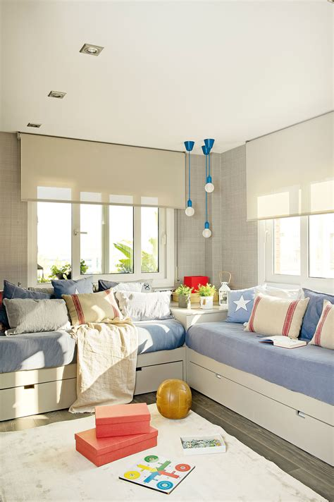 Dormitorios Juveniles Con Cama Grande. Cama Doble Compacto ...