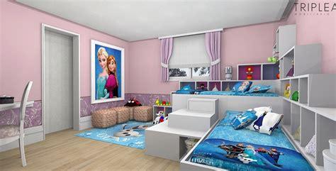 Dormitorios para niñas tema Frozen   Dormitorios colores y ...