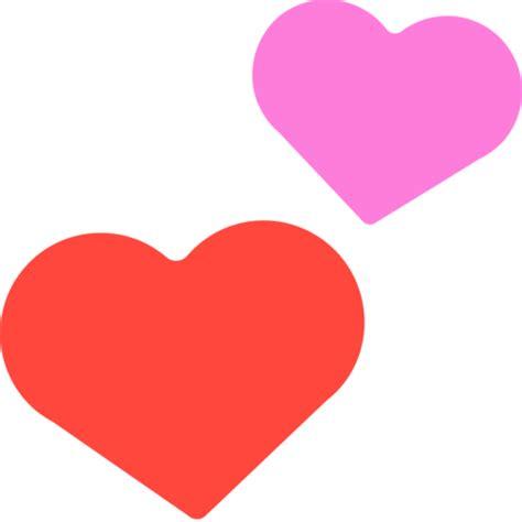 Dos Corazones Emoji   Copiar & Pegar   Significado & Imagenes
