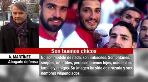 Dos miembros de  La Manada  rompen a llorar durante el ...