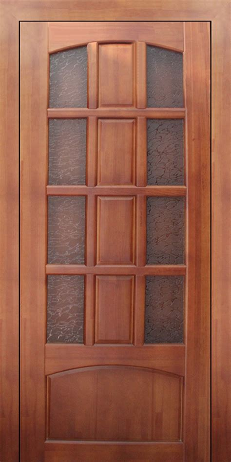 Double solid wood interior doors