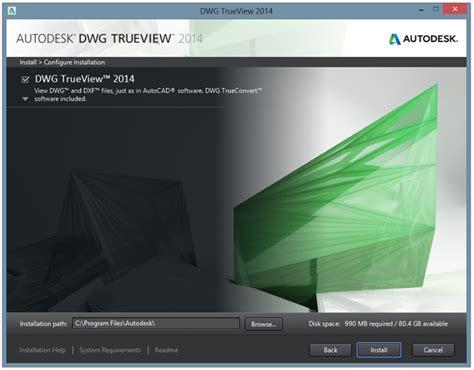 Download Autodesk DWG TrueView 2014