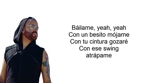 Download Bailame Remix Letra Lyrics Nacho Ft Yandel Bad ...