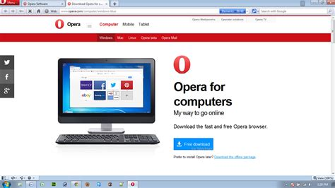 Download Browser Opera Mini For Pc - Download Software Now