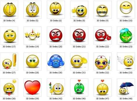 Download Emoticons Free   Emoticons is a smiley software ...