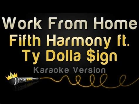 Download Fifth Harmony Ft Ty Dolla Sign Work From Home ...