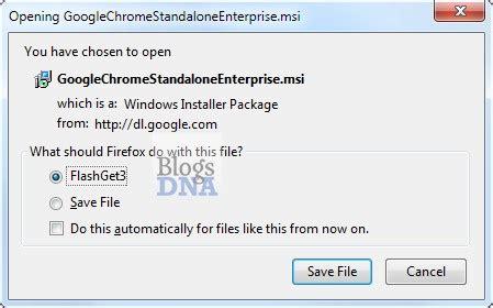 Download Google Chrome Standalone Enterprise (.MSI) Installer