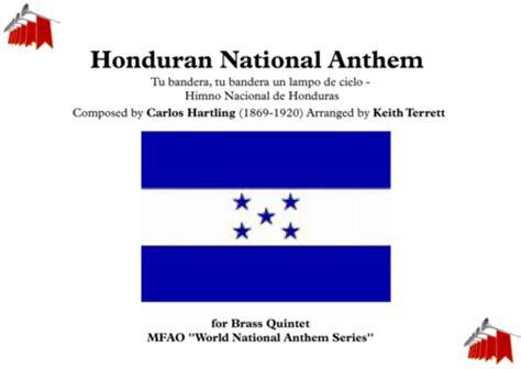 Download Honduran National Anthem (Tu Bandera, Tu Bandera ...