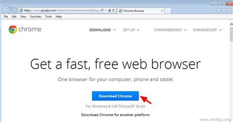 Download Installer Google Chrome   vaultprogram