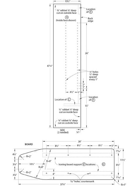 » Download Plans For Wood Ironing Board PDF plans for ...