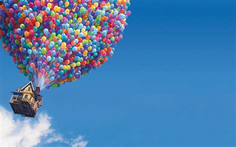 Download the Floating Balloon House Wallpaper, Floating ...