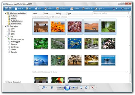 Download the latest version of Windows Live Photo Gallery ...