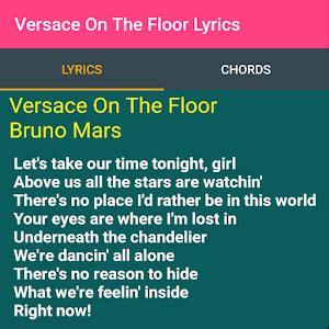 Download Versace On The Floor Lyrics for PC