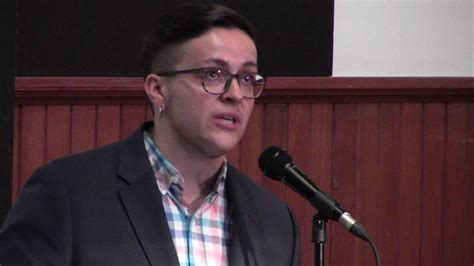 Dr. Lee Airton at the Trans Positive Teach In Panel   YouTube