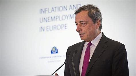 Draghi pide prudencia en el ajuste de los estmulos