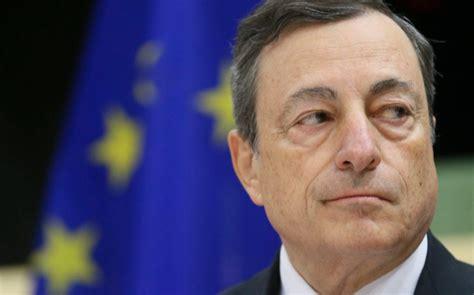 Draghi ve una