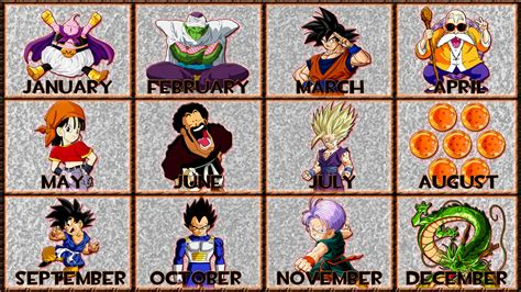 Dragon Ball   12 Months by GT4tube on DeviantArt