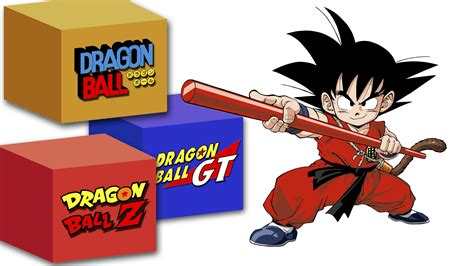 Dragon Ball series: original, DBZ or GT?   netivist
