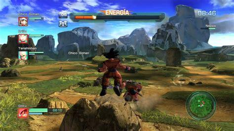 DRAGON BALL Z BATTLE OF Z PS4 GAME PLAY VS  NAPPA    YouTube