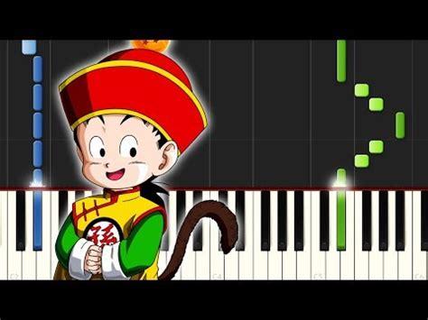 Dragon Ball Z / Cancion Triste / Piano Tutorial / Notas ...