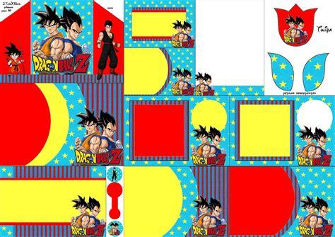 Dragon Ball Z: Invitaciones para Imprimir Gratis. | Oh My ...