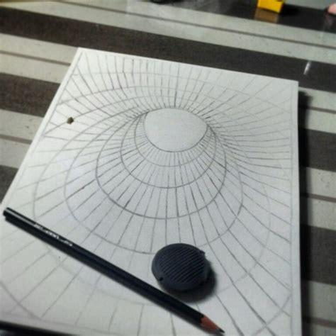 #drawing   3d hole illusion 02 | my drawings #ruhan ...