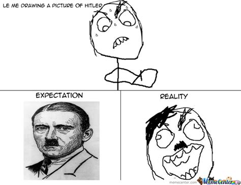Drawing Hitler by thenamuthan18   Meme Center
