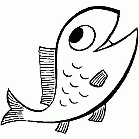 Drawing of fish for april fool's day - Animals coloring to ...