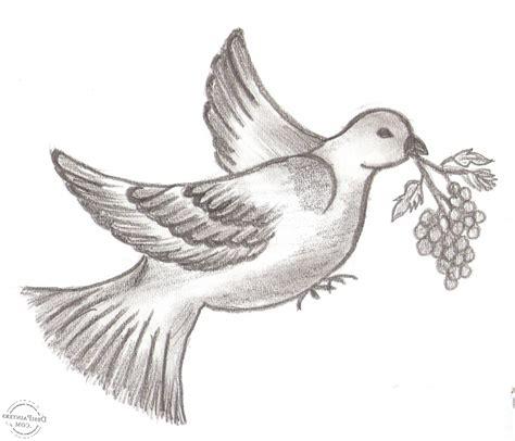 Drawn bird pencil sketch - Pencil and in color drawn bird ...