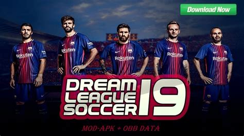 Dream League Soccer 2019 Mod FC Barcelona Team Download