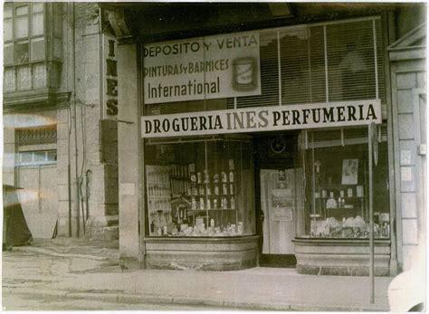 Droguería Perfumería Inés en la calle Cádiz, ca. 1950 ...