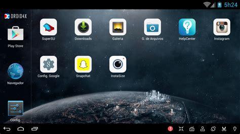 Droid4X — Emulador de Android para computador