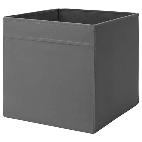 DRÖNA Box Dark grey 33x38x33 cm - IKEA