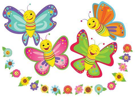 DS/026 Primavera. Consta de 4 mariposas grandes y varias ...