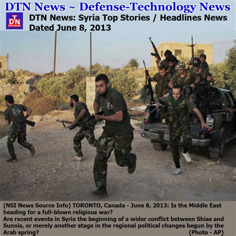 DTN India: DTN News: Syria Top Stories / Headlines News ...